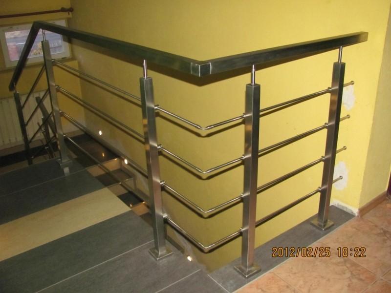 Balustrady cało-nierdzewne Balustrady do samodzielnego montażu