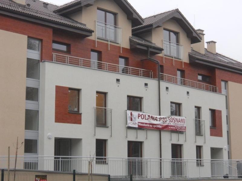 Polana pod sosnami Realizacje w budynkach wielorodzinnych