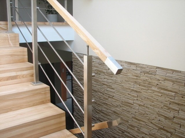 Balustrady drewno-metal Balustrady do samodzielnego montażu