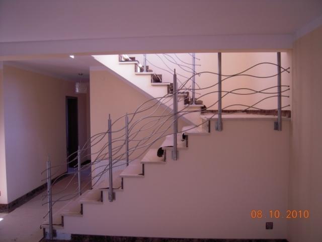 Balustrady według własnych projektów naszych klientów Realizacje dla klientów indywidualnych